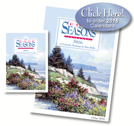Four Seasons 2016 Art Calendars